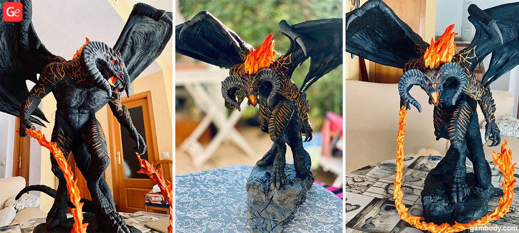 Balrog 3D model to print