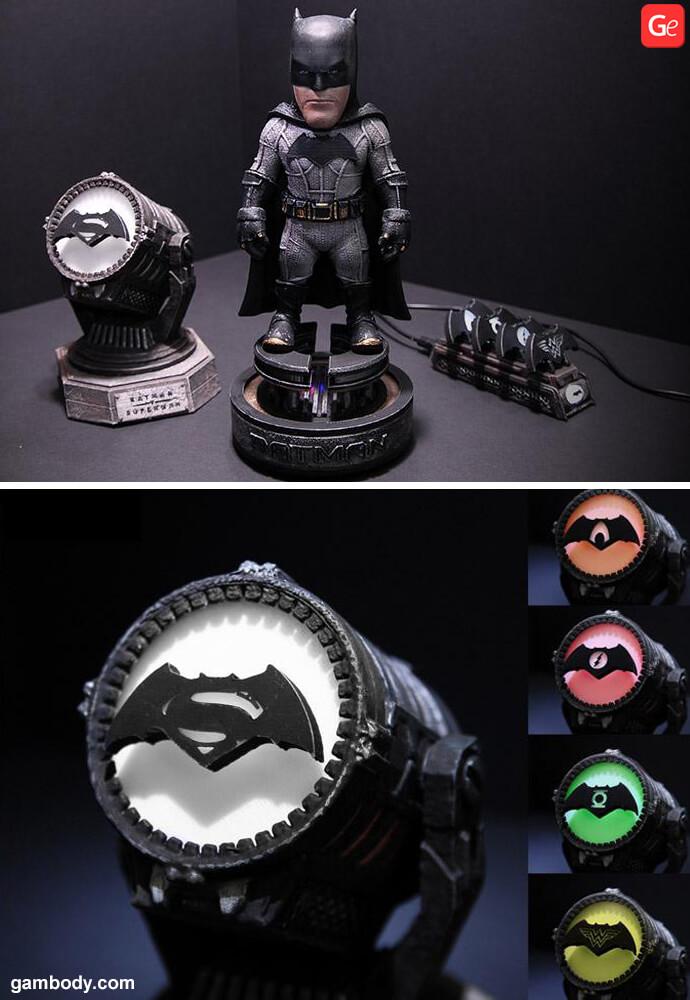 Batman 3D model download STL