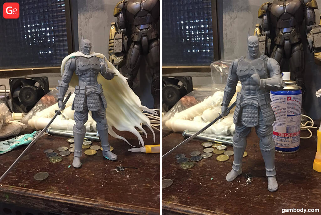 Armoured Batman figure