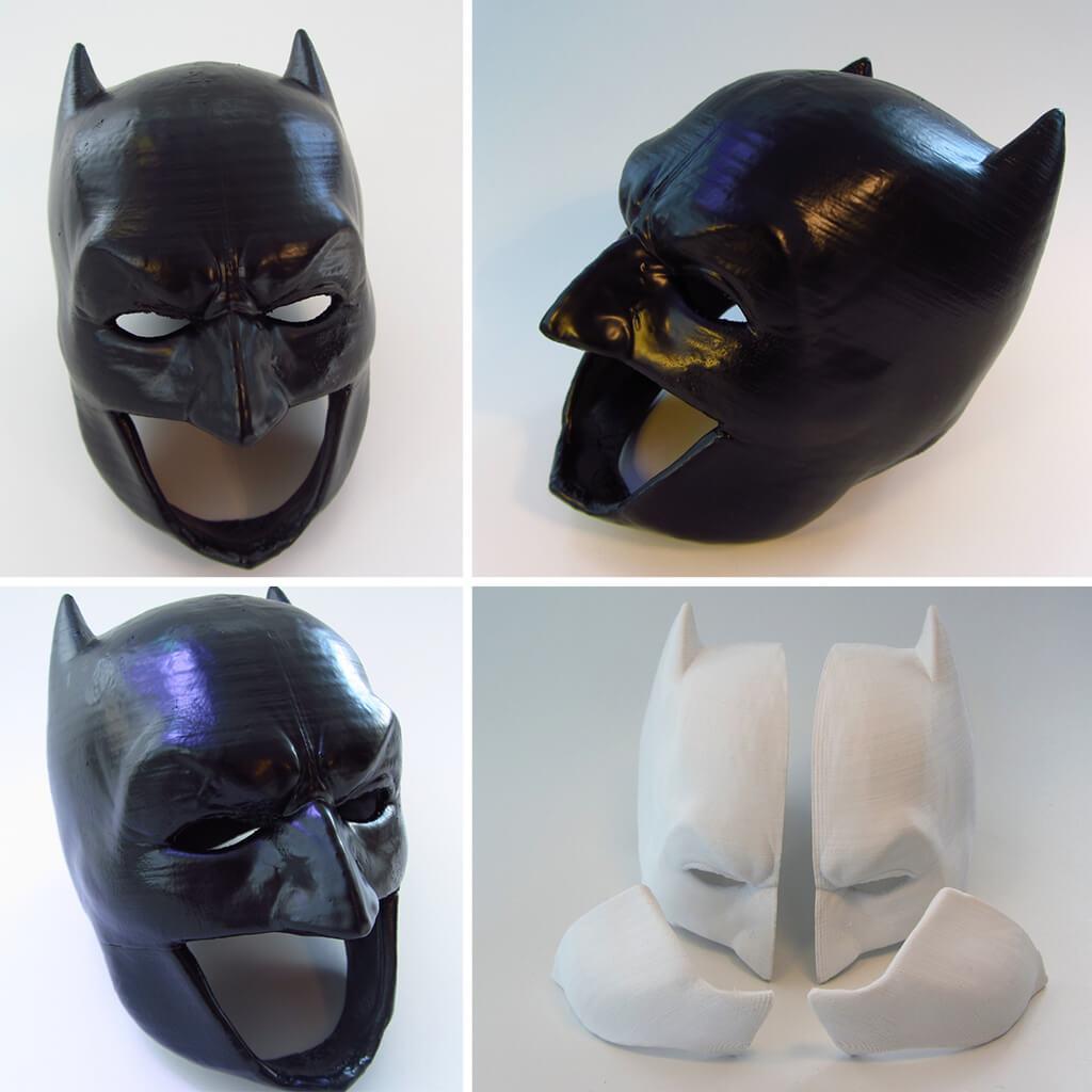 Batman cowl STL