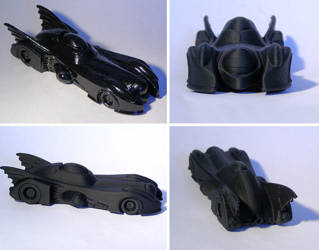 Batmobile computer mouse 3D printing model