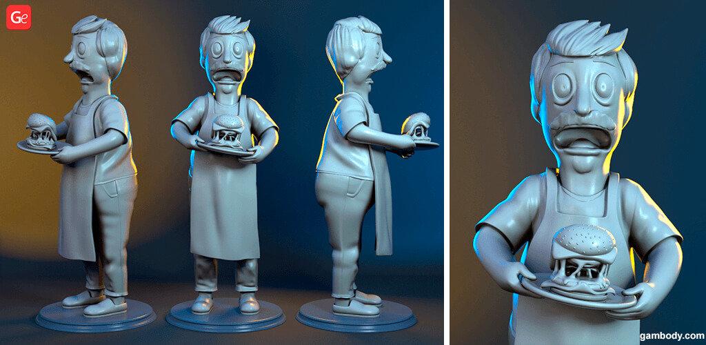 Bob Belcher figure