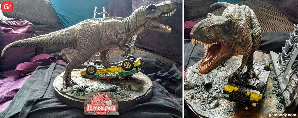 Jurassic Park 3D print