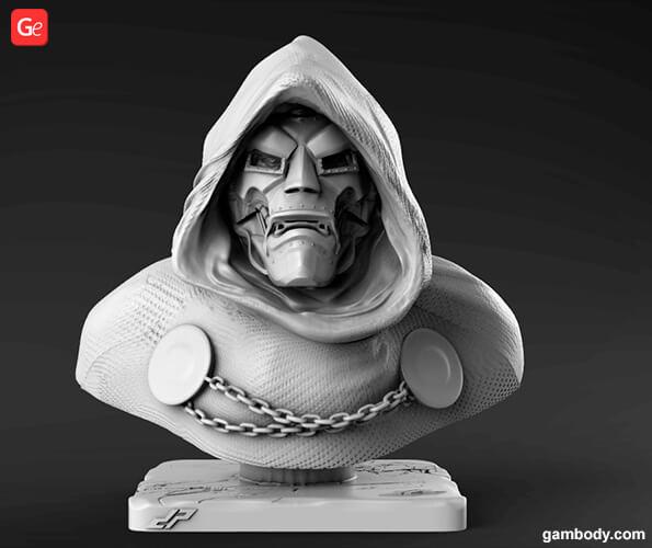 Doctor Doom 3D model to print