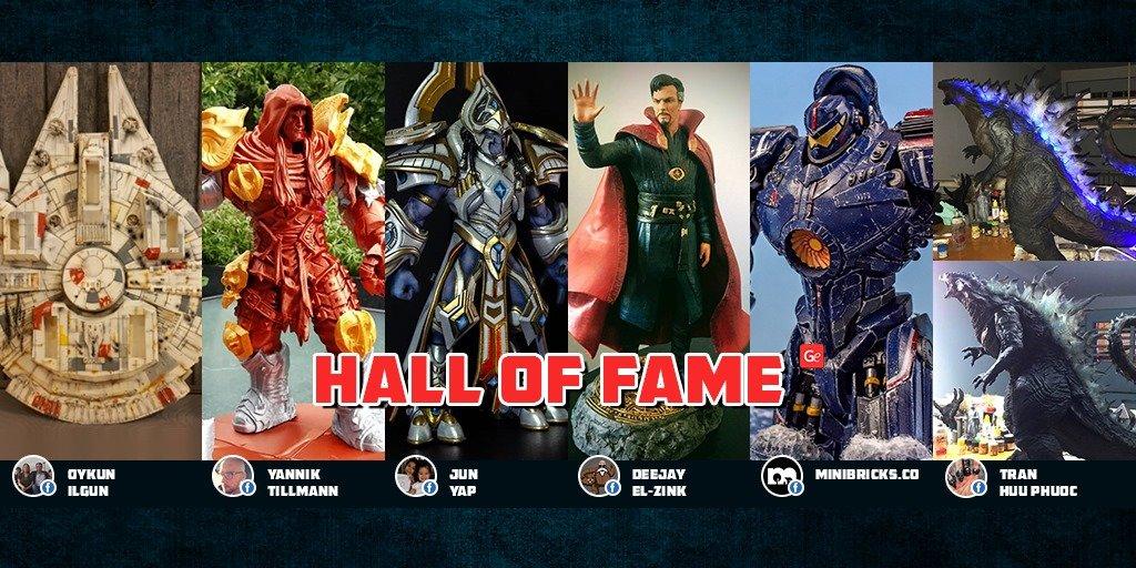 Gambody Hall of Fame winners of July