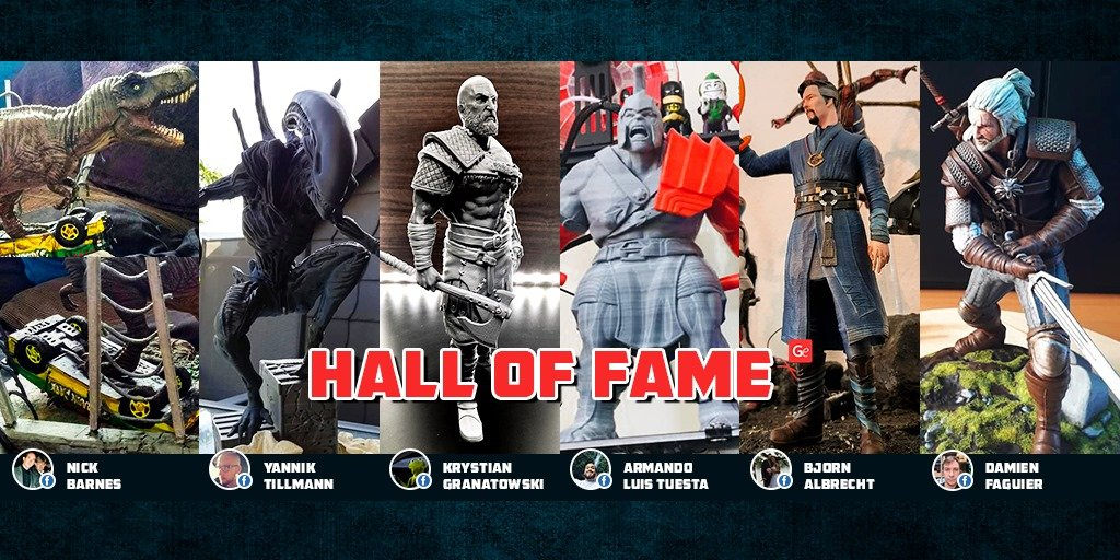Trendy 3D prints of Gambody Hall of Fame