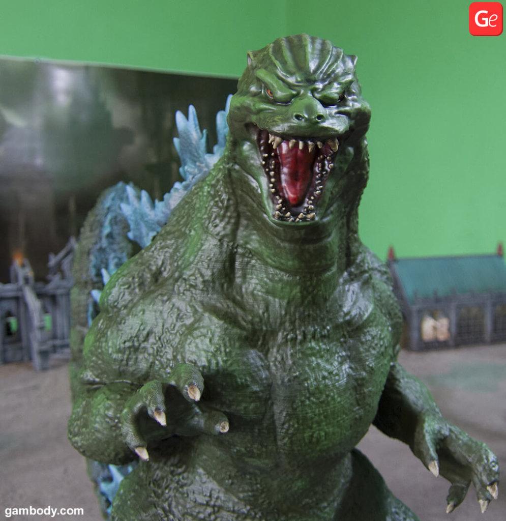 Heisei Godzilla model