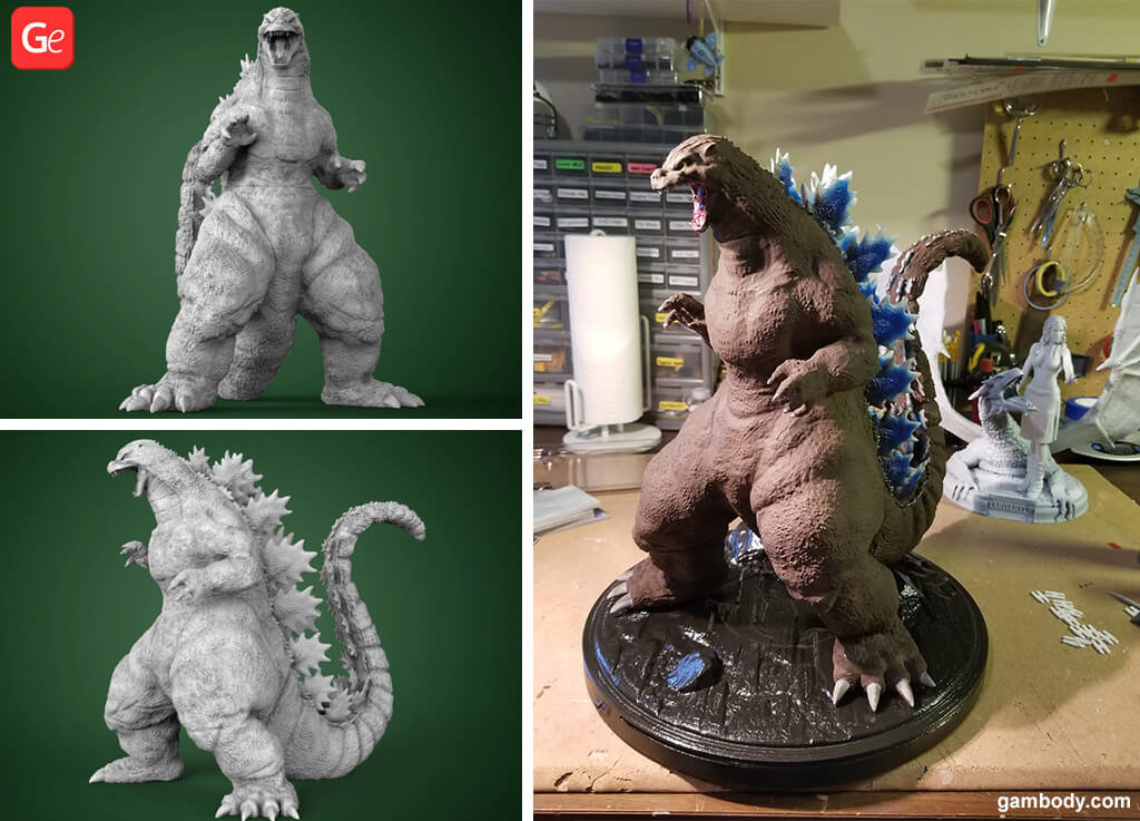 Heisei Godzilla figurine