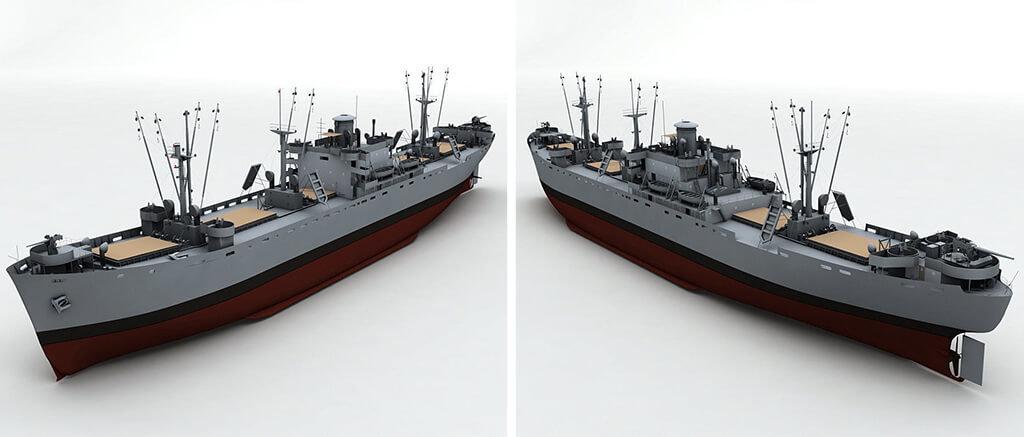 Liberty Ship WWII