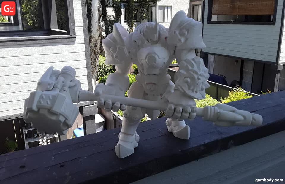 Reinhardt 3D print