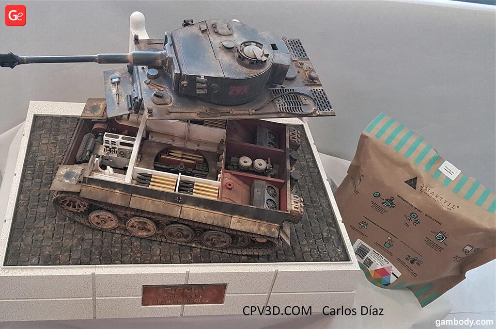 Tiger Tank figure