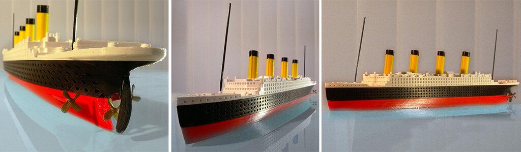 Titanic ship 3D model to print