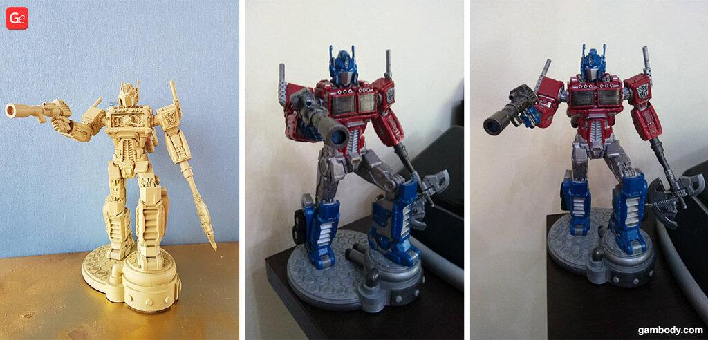 Transformers Optimus Prime 3D print figurine