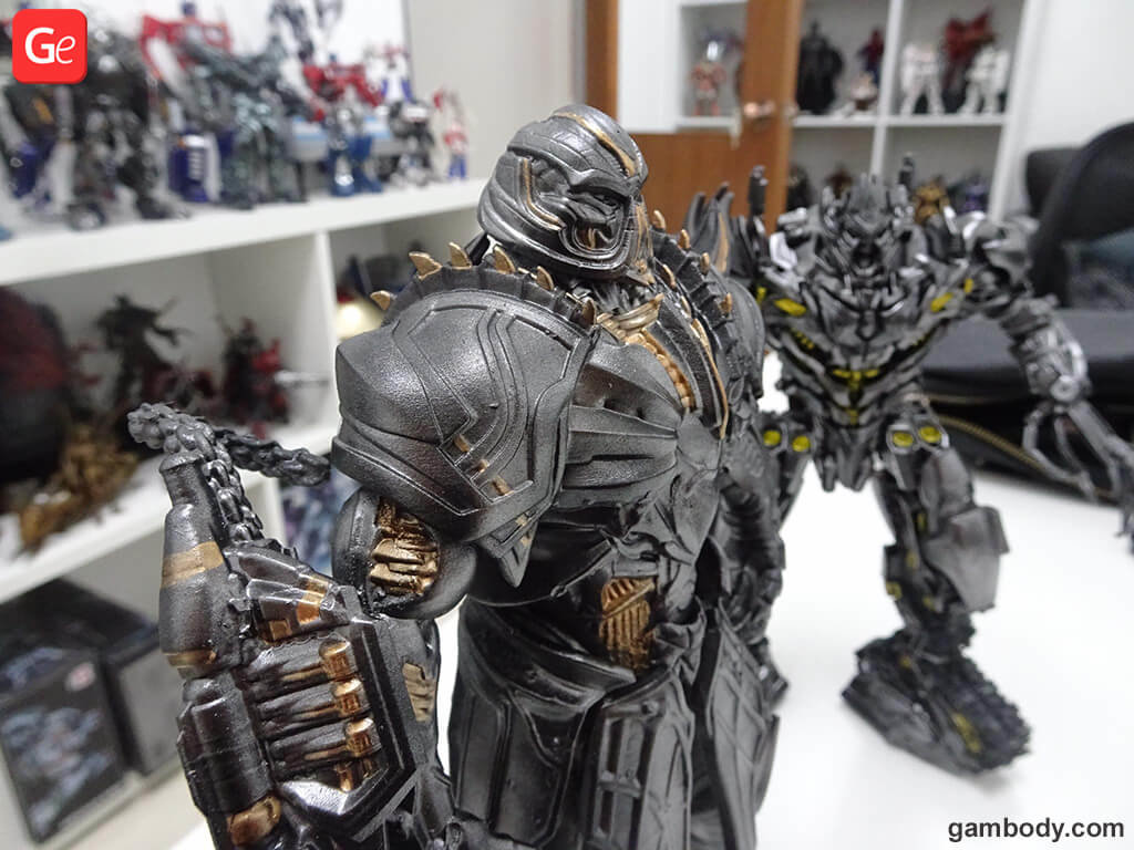 Transformers Megatron 3D model to print