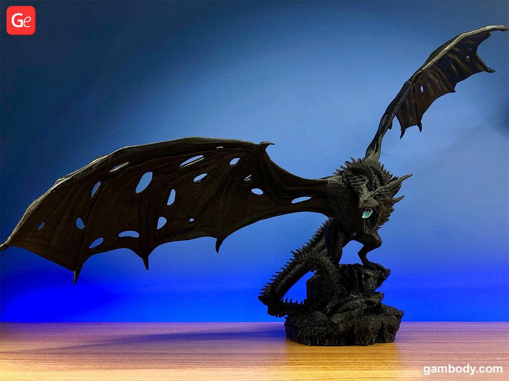 Viserion figurine
