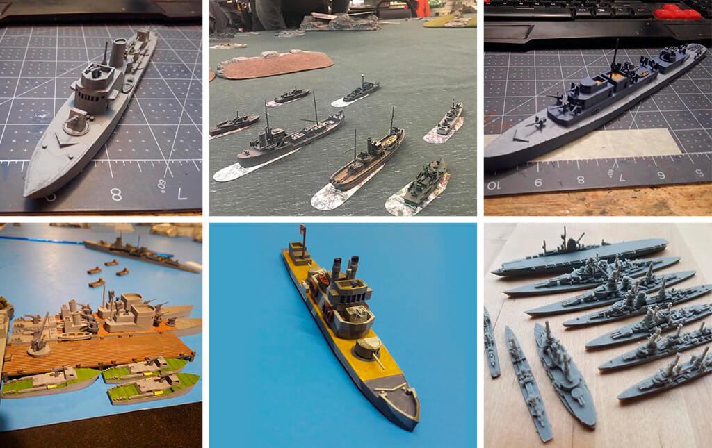 World War II ship collection