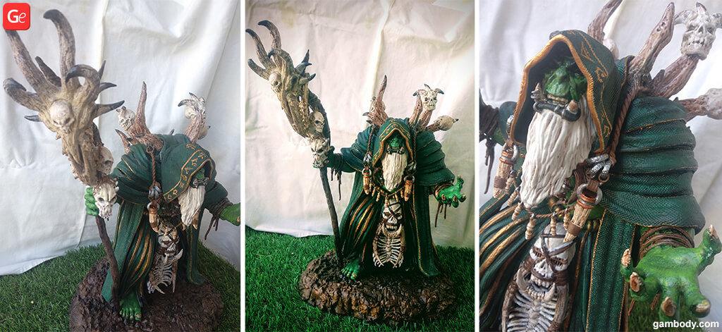 Guldan model 3D printed