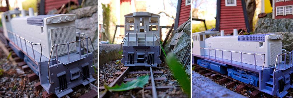 Locomotive 3D model free