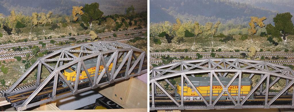 Arch-truss bridge design