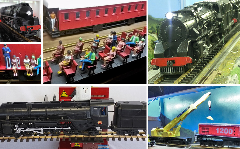 New Zealand railway models