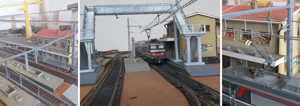 Overhead line model