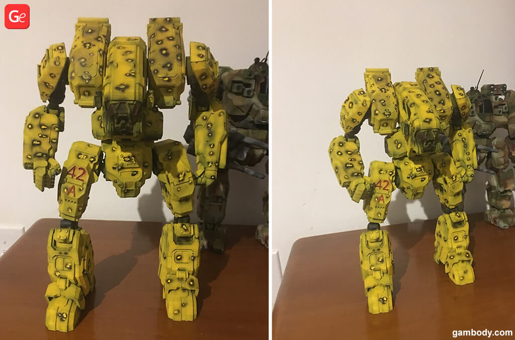 Archer MechWarrior trending 3D prints