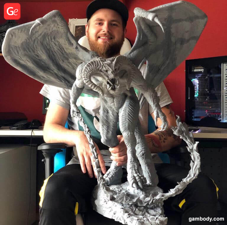 Balrog statue 3D printing trends