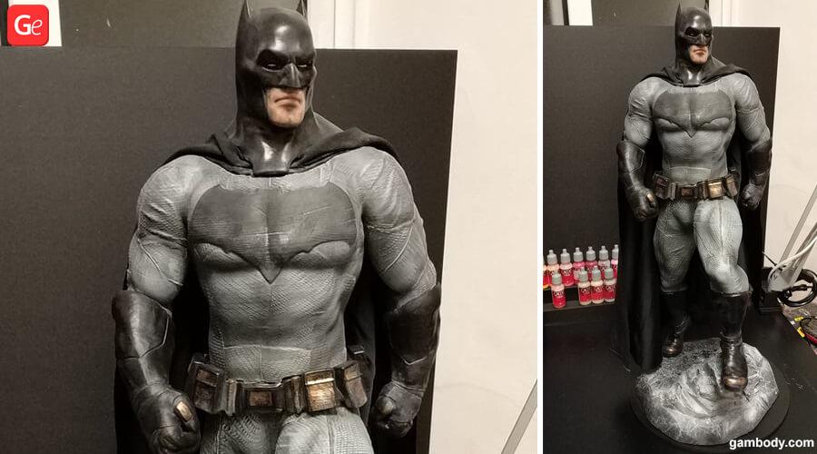 Batman statue 3D printing trends