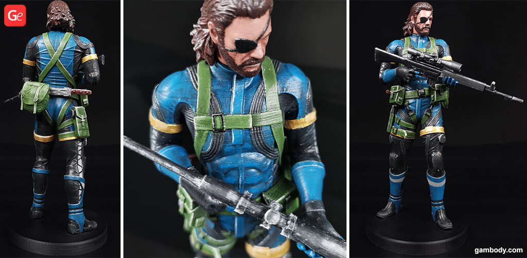Big Boss Metal Gear 3D printing trends
