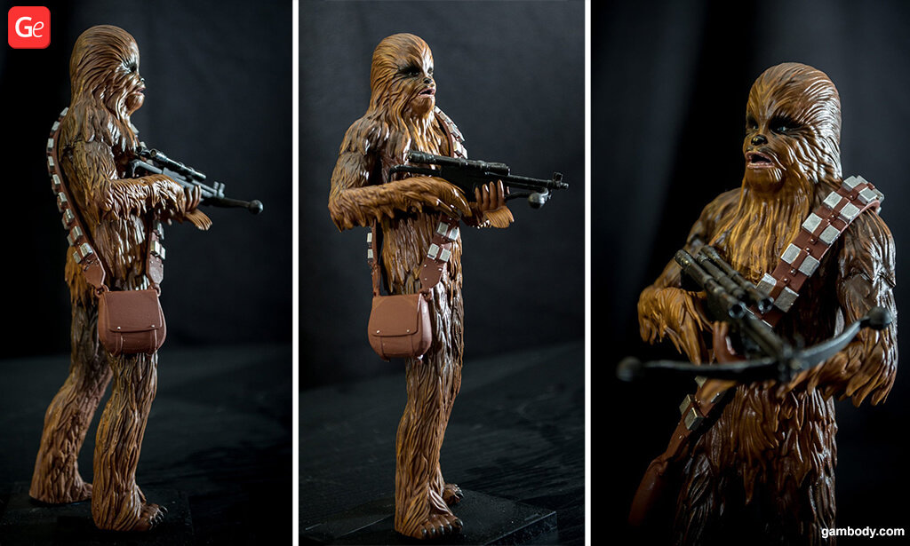 Chewbacca trending 3D printed model