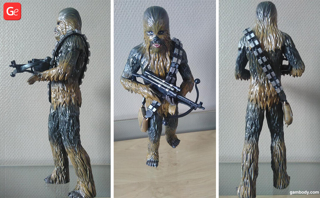 Chewbacca 3D printing trends
