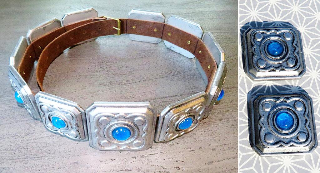 Ciri Witcher belt buckles 3D print