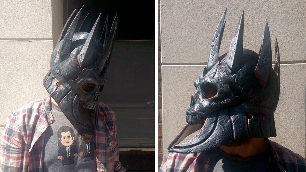 Eredin helmet 3D print
