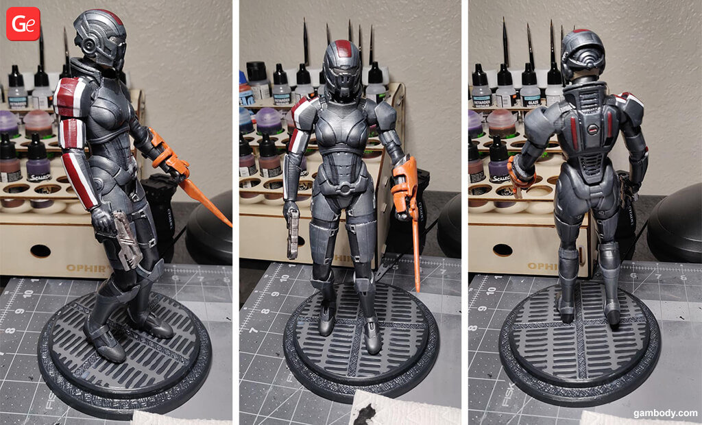 Female Shepard 3D printing trends