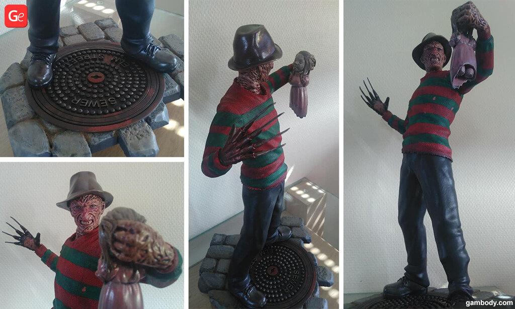 Freddy Krueger trending 3D prints
