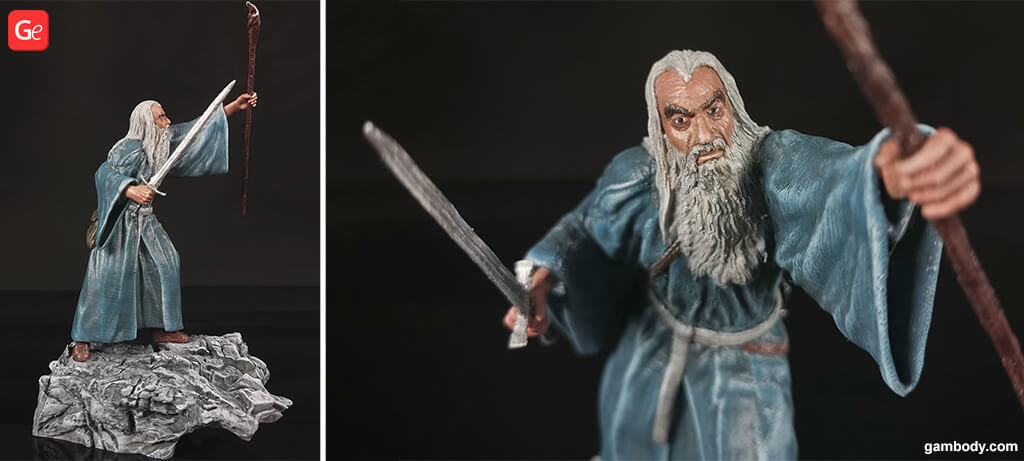 Gandalf figurine The Hobbit 3D printing trends