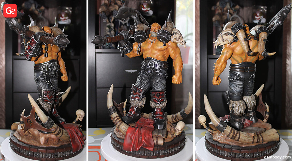WOW Garrosh Hellscream 3D printing trends