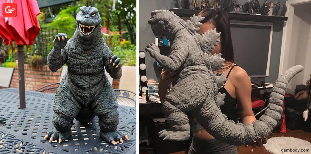 20 inch Godzilla toy trending 3D prints