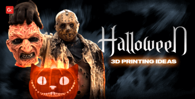 30 Best 3D Printing Halloween Ideas 2019: Masks, Décor, Costumes, Props