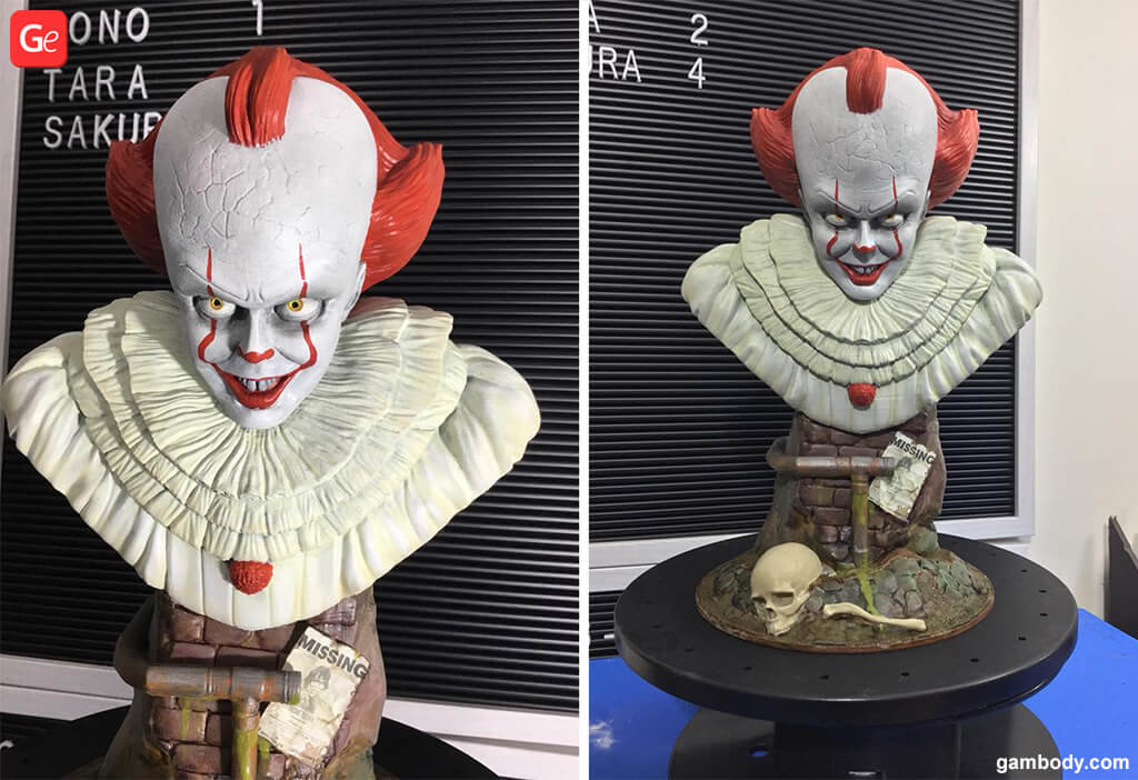 It Movie Clown 3D printing trends