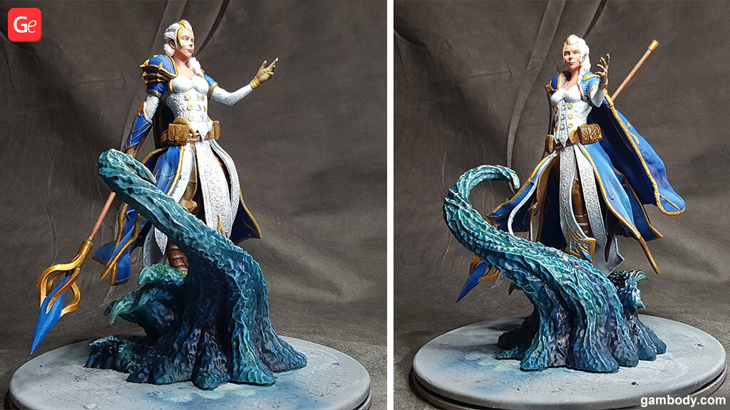 Jaina Proudmoore Warcraft 3D printing trends