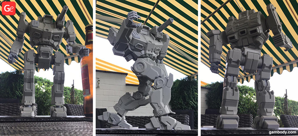 MWO Shadow Hawk 3D printed trends model