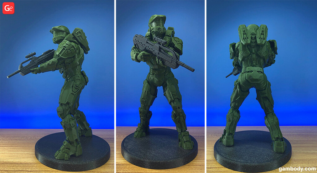 Master Chief 3D printed model trends 2019