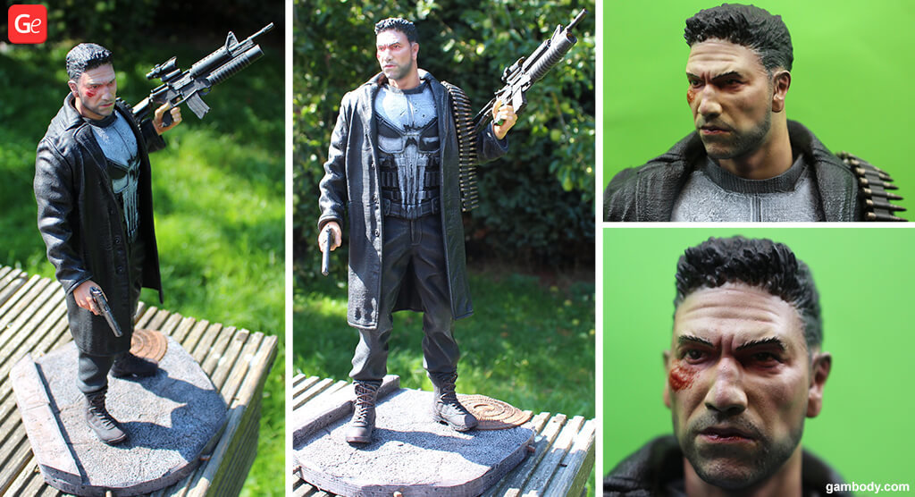 Punisher figure Marvel Legends 3D printing trends