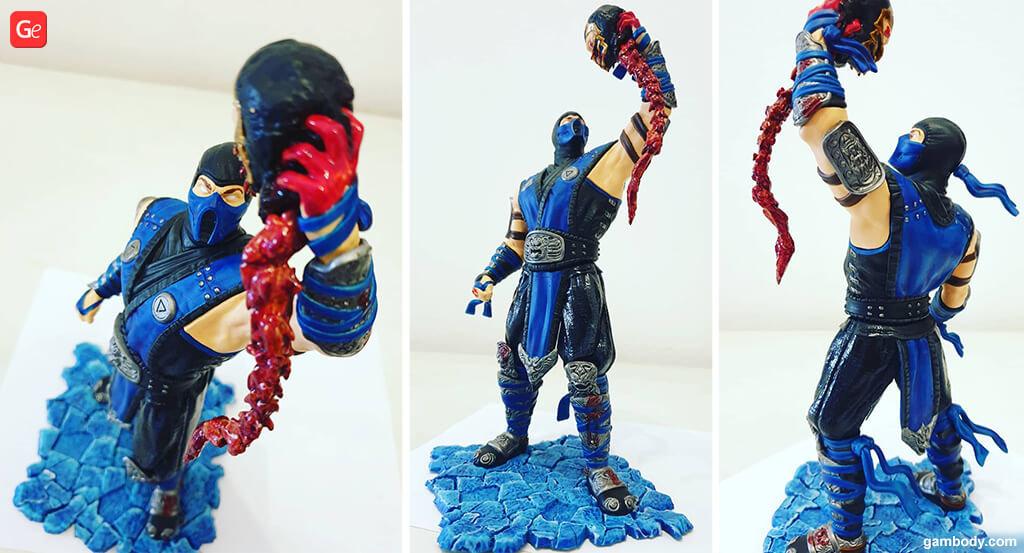 Sub-Zero figurine 3D printing trends