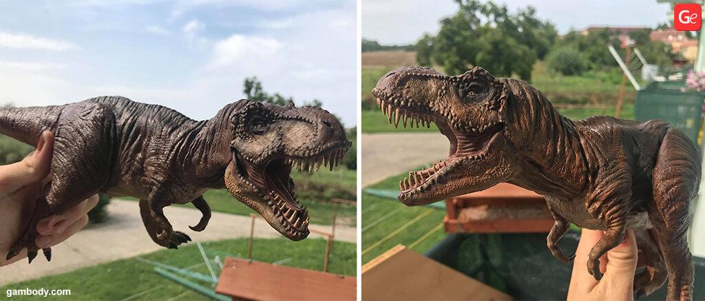 Dinosaur from Jurassic Park 3D printing trends