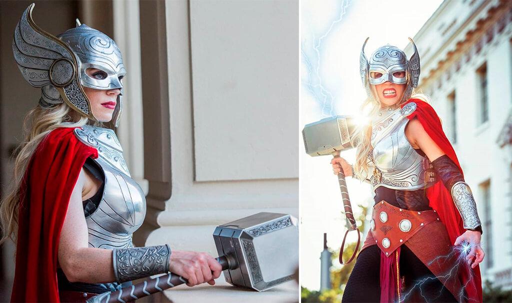 Thor Jane Foster Halloween costume 3D printed