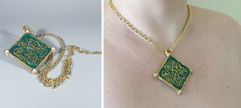 Triss Merigold Necklace 3D printed