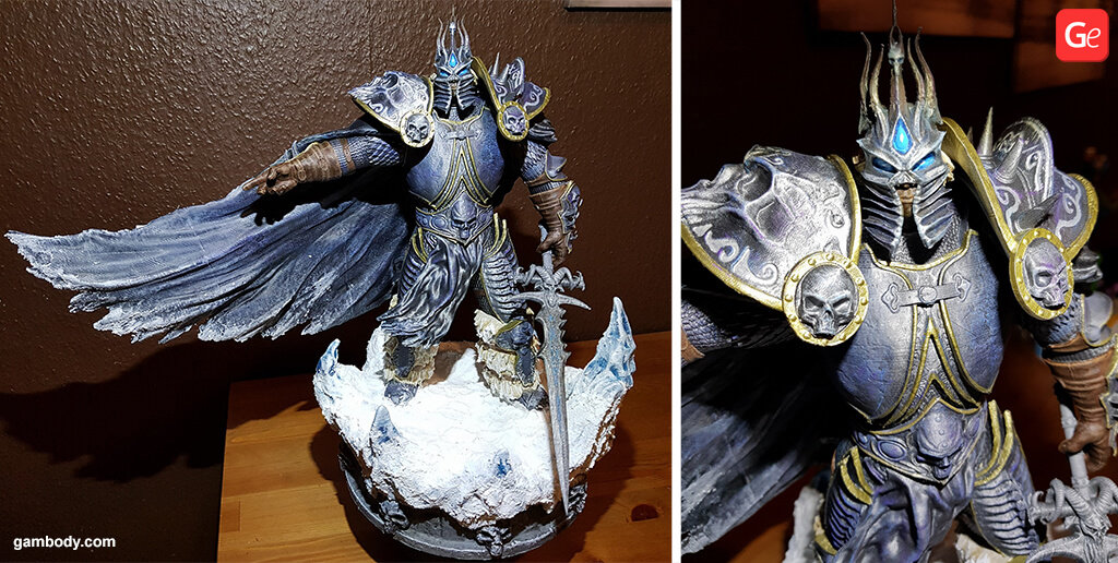 WOW Lich King statue 3D printed model