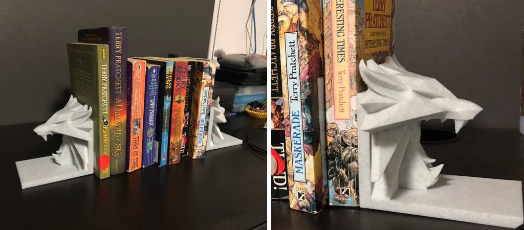 Witcher Bookends 3D model to print